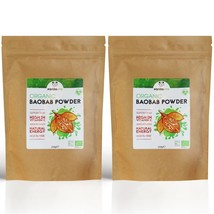 2 x 250g PandaVita Baobab Superfruit Powder Pouches (Organic, Superfood) - $30.94