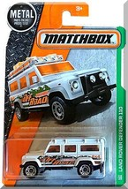 Matchbox - Land Rover Defender 110: MBX Explorers #110/125 (2016) *White* - $3.00