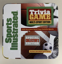 Sports Illustrated Trivia Game Multi-Sport Edition Special Collector's Edition - $14.80