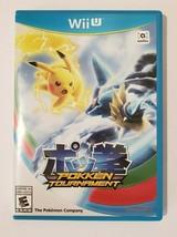 Pokken Tournament Nintendo Wii U Video Game - $18.76