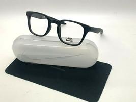 New Nike 7114 002 Matte Black Optical Eyeglasses 48-22-145MM /CASE - $58.17