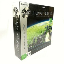 PLANET EARTH The Interactive DVD Game Family Trivia Game NEW - Bonus Car... - $12.56