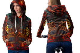 DMT SKULL crystal Hoodie For Women - $42.99+