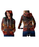 DMT SKULL crystal Hoodie For Women - $42.99+