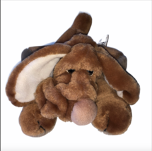 Vintage Wrinkles Plush Ganz Ganzbros 1986 Finger Puppet Stuffed Animal Toy Dog - $19.99