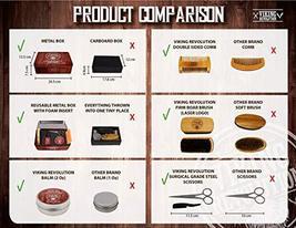 Beard Care Kit for Men- Sandalwood- Ultimate Beard Grooming Kit includes 100% Bo image 4