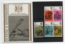 GB 1970 Literary Anniversaries Presentation Pack VGC. Stamps. Dickens - $3.73