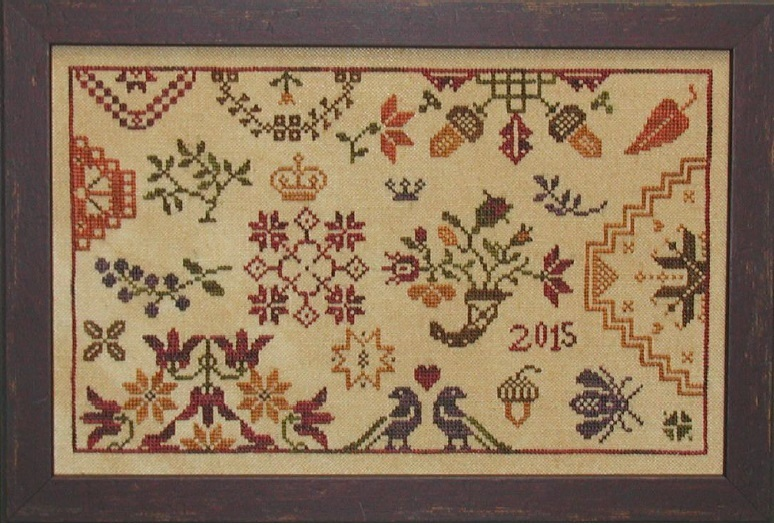 Primary image for Autumn Quaker cross stitch chart Praiseworthy Stitches
