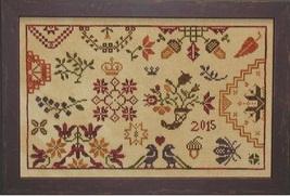 Autumn Quaker cross stitch chart Praiseworthy Stitches - $10.80