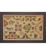 Autumn Quaker cross stitch chart Praiseworthy Stitches - $10.80