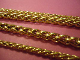 HEAVY GOLDEN CHAINS NECKLACE   **L@@K**  >> COMBINED SHIPPING <<   ( - $18.56