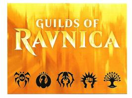 Magic The Gathering MTG Guilds of Ravnica Weekend Promo Invitation Postcard - $3.50