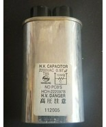 Microwave Oven H.V. Capacitor, .2200VAC HCH-222097B - Hansung - $4.89
