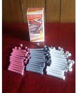Pro Perm Medium Curling Rods Kit #2 Salon Professional Quality 36 Roller... - $17.75