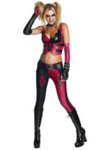 Batman Arkham City Adult Harley Quinn Cosplay Halloween Costume Size 0-2 XS - $49.49