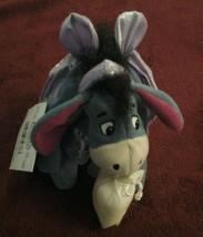Eeyore Disney Store Mini Bean Bag Toy  Winnie The Pooh Sugar Plum Fairy New - $13.85