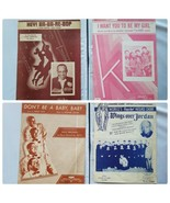 Vintage Sheet Music Song Books Collectible Lot of 4 Songs - $22.31