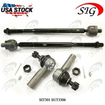 4Pc JPN Front Inner Outer Suspension Tie Rod End Kit For Toyota Avalon 1... - $28.70