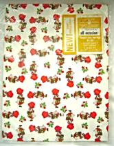 Vintage Holly Hobbie American Greetings Gift Wrapping Paper Sealed NIP - $9.99
