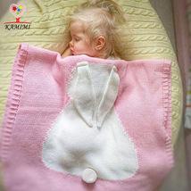 Baby Rabbit Blanket Newborn Infant knitting baby Cotton bedding Towels