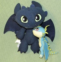 "TOOTHLESS Stormfly How To Train Your Dragon Defenders of Berk 2013 12"" &... - $23.38"