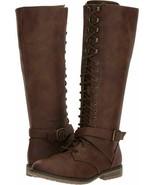 Topline Devon Women's Combat Boots - Size 7 1/2 - NEW IN BOX - $24.95