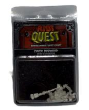 Riot Quest Chuck Dogwood Arena Miniatures Guard Hero Expansion PIP 63021 NIP - $22.76