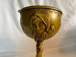 Disney Parks Cruise DCL Rapunzel Tangled Gold Goblet Sipper Cup Plastic New - $23.08