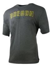 Mens Colosseum Gray University of Oregon Fighting Ducks NCAA Tee MSRP $30 - $18.99