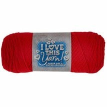 I Love This Yarn in Red #839357