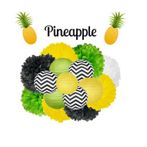 Pineapple Party Decoration - Hanging Decoration - $39.00
