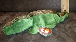 ALLY Ty Beanie Babies -  1993 Collection Plush Toy ALLIGATOR (hard H.T protector - $9.99