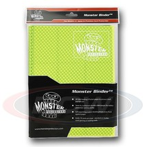 9-POCKET MONSTER PROTECTOR BINDER - HOLOFOIL HIGHLIGHTER YELLOW - $28.40