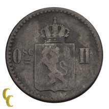 1873 Norway 3 Skilling (VF) Very Fine Condition - $24.75