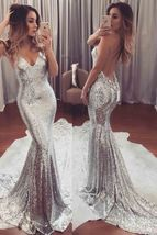 sexy prom dresses,mermaid prom dresses,backless prom dresses,straps prom dresses - $189.00