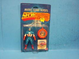 "Marvel Super Heroes ""Secret Wars"" Captain America Action Figure Mattel  ... - $79.99"