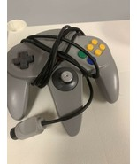 2 Nintendo 64 N64 Controller Original Gray OEM Red Off Brand Tested And ... - $27.72