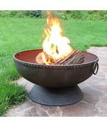 Fire Pit Bowl - 30 Inch Large Round Wood Burning  - $350.00