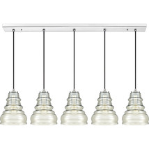 Prophecy 5-Light Linear Chandelier in Polished Chrome - $649.99