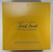 NIB 1984 TRIVIAL PURSUIT Master Game Genus II Edition SEALED Yellow Box - $60.00