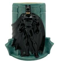 D C Comics Batman Forever 3 D Gotham City 1995 Applause Mug - $24.99