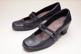 Clarks 9.5 Blue Mary Jane Heels - $36.00