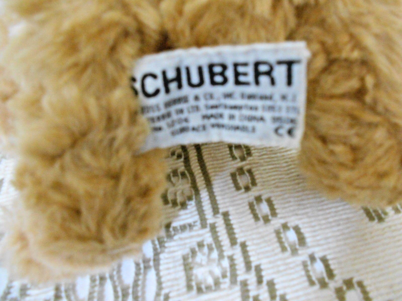 """Russ Bears from the Past  Schubert  No. 1206  Stuffed Bear Plush 8"""""""