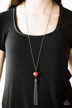 Be A Boss - Red Necklace - $5.00