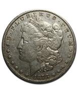 1878 7Tf Rev 78 MORGAN SILVER ONE DOLLAR Coin Lot # MZ 3650 - $58.79 CAD