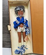Vintage Dallas Cowboy Cheerleaders Royal Doll 1982 African American New in Box - $47.52