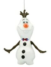 Hallmark Disney Frozen Olaf Decoupage Shatterproof Christmas Tree Ornament NWT