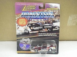 JOHNNY LIGHTNING DRAGSTERS 1/64TH SCALE DIECAST- #21 KENDALL GT-1 1995- ... - $4.89