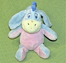 Disney Baby EEYORE Plush RATTLE Pastel CRINKLE EARS Stuffed Teddy Bear 1... - $24.75