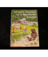 1 Vintage The Happy Hollisters and the Whistle Pig Mystery Mystery Book VTG - $8.99